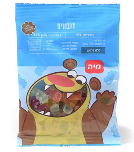 סוכריות ג'לילנד דובונים 125 גרם מיה