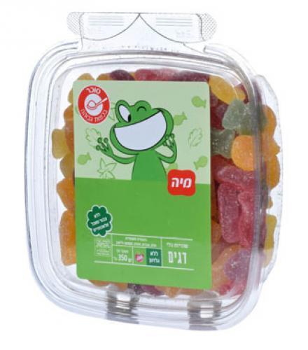 סוכריות ג'לי דגיגים 350 גרם נספק מיה