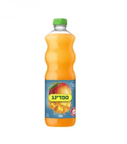 ספרינג משקה קל מנגו 1.5 ליטר הרב רובין