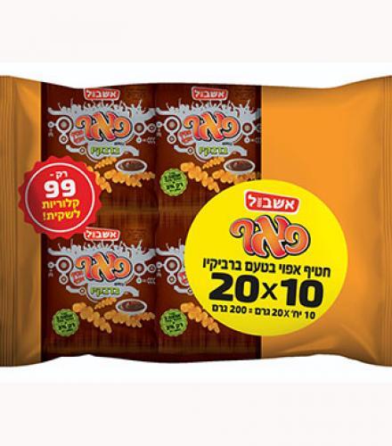 פאף בטעם ברביקיו 20 גרם * 10 יחידות בד