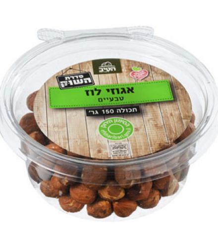 אגוזי לוז טבעיים 150 גרם - הטיב