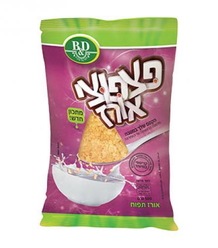 פצפוצי אורז 500 גרם בי אנד די