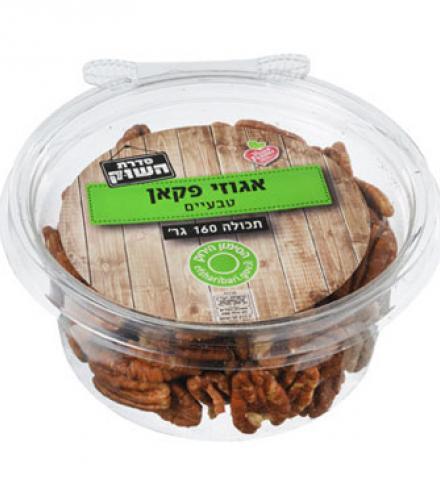 אגוזי פקאן טבעיים 160 גרם - הטיב