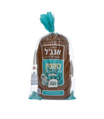 לחם כוסמין וחיטה מלאה אנג'ל, 750 גרם