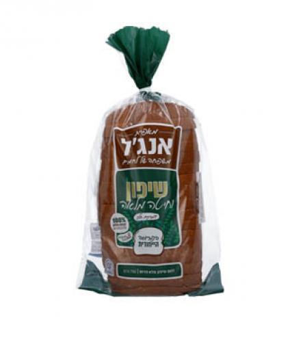 לחם שיפון וחיטה מלאה אנג'ל, 750 גרם