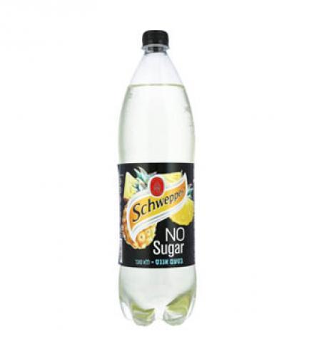שוופס מוגז ללא סוכר בטעם אננס 1.5 ליטר הרב רובין
