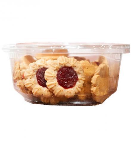 עוגיות ללא תוספת סוכר בטעם תות 350 גרם אחוה