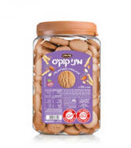 עוגיות מיני קוקיס שקדים בטעם לימוני עדין 560 גרם כרמית