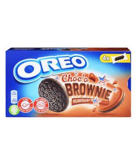 עוגיות אוראו בראוניז 176 גרם