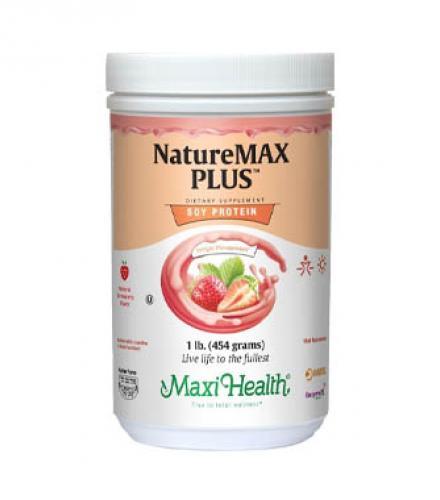 אבקת חלבון תות מקסי הלט 454 גרם