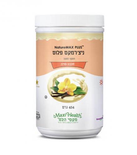 אבקת חלבון סויה וניל מקסי הלט 454 גרם