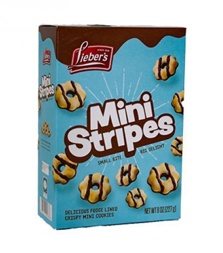 עוגיות מיני עם ציפוי שוקולד 227 גרם ליבר'ס