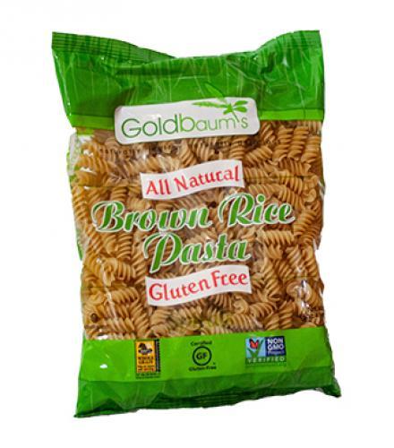פסטה מסולסל מאורז חום ללא גלוטן 454 גרם Goldbaum's