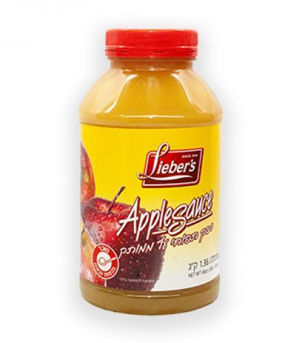 רסק תפוחי עץ ממותק 1.36 ק
