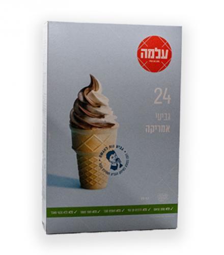 גביעי גלידה אמריקה 24 יחידות