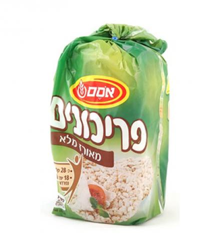 פריכונים מאורז מלא 140 גרם  - אסם