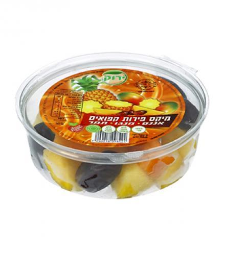 פירות קפואים מיקס אננס, מנגו, תמר - פרווה