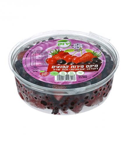 פירות קפואים מיקס פירות יער - דובדבן, אוכמניות, תות שדה - פרווה