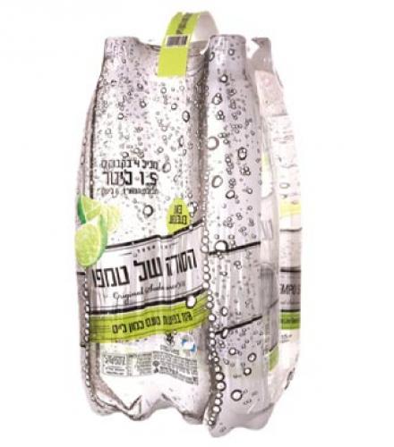 סודה לימון ליים 1.5 ליטר * 4 במארז הרב רובין