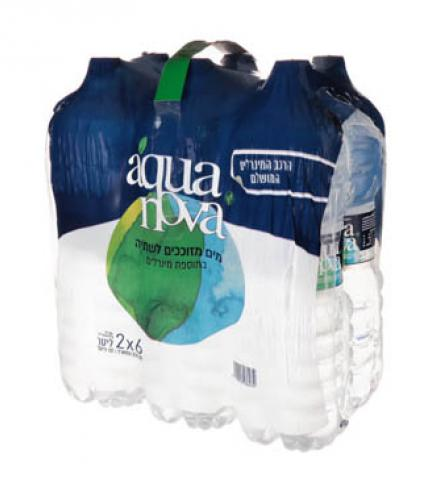 מים 2 ליטר שישיה - אקווה נובה