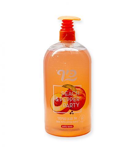 אל סבון אפרסק ופלפל 1 ליטר - כיף