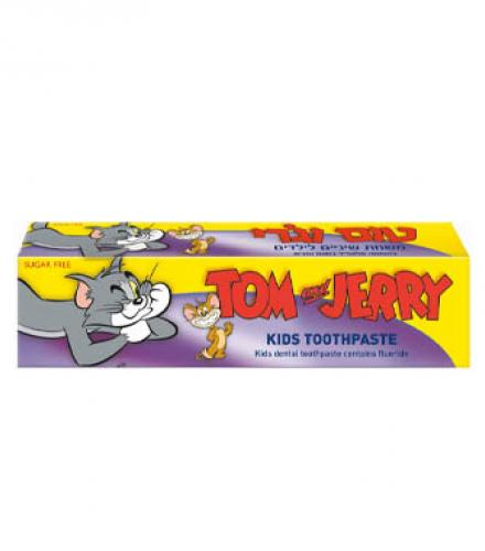 משחת שיניים לילדים בטעם ענבים - טום וג'רי
