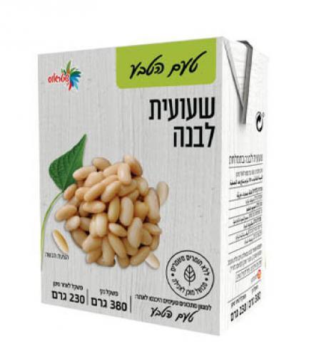 שעועית לבנה מבושל ומוכן לאכילה 380 גרם טעם הטבע - שטראוס