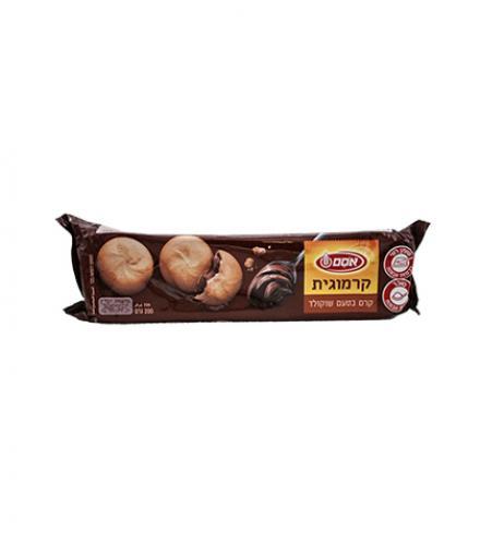 עוגיות קרמוגית במילוי קרם בטעם שוקולד 200 גרם - אסם