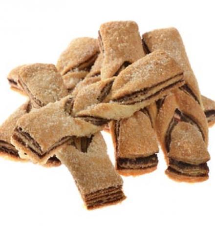 עוגיות רשת שוקולד 600 גר בד