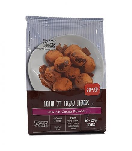 אבקת קקאו דל שומן 200 גרם - מיה