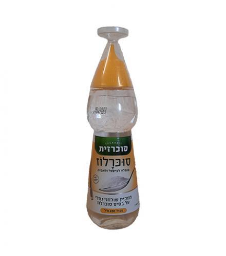 סוכרזית סוכרלוז ממתיק נוזלי לבישול ואפיה 220 מ