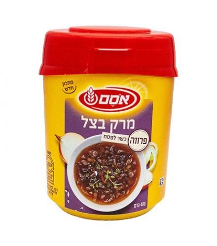 אבקת מרק בצל פרווה 400 גרם - אסם