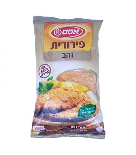 פירורי לחם פירורית זהב 200 גרם - אסם