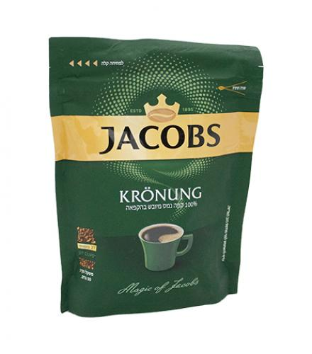קפה נמס מיובש בהקפאה בשקית קרוננג 50 גרם - ג'ייקובס