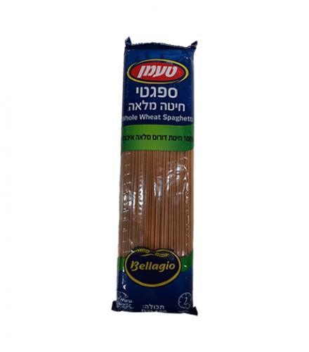 ספגטי חיטה מלאה 500 גרם - טעמן
