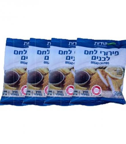 פירורי לחם לבנים 200 גרם שדות 4 ב- 9.90