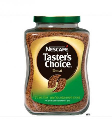 קפה נמס טסטרס צ'ויס נטול קופאין 200 גרם - NesCafe