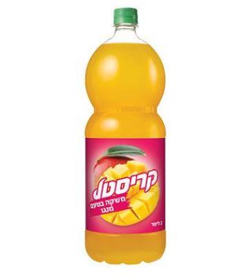 קריסטל מיץ מנגו 2 ליטר