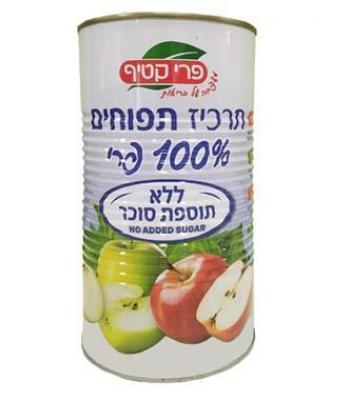 תרכיז תפוחים ללא תוספת סוכר פרי קטיף 1200 מ''ל