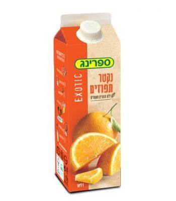 נקטר ספרינג תפוזים בקרטון הרב רובין
