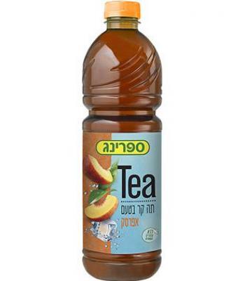 ספרינג תה אפרסק 1.5 ליטר  הרב רובין