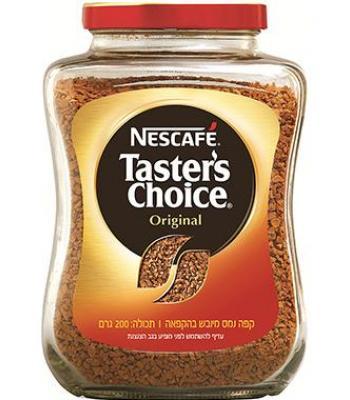 נס קפה טסטר צ'ויס 200 גרם גדול