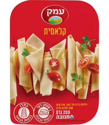 גבינה צהובה קלאסית 28% עמק 200 גרם