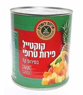 קוקטייל פירות טרופיים אריזות ירושלים
