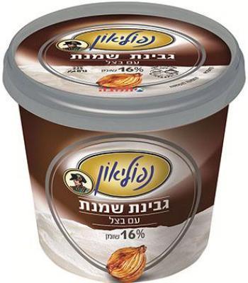 גבינת נפוליאון 16% שומן עם בצל 225 גרם  כשל