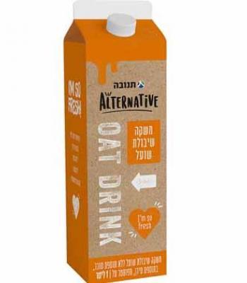 משקה שיבולת שועל ללא תוספת סוכר תנובה אלטרנטיב (1 ליטר)