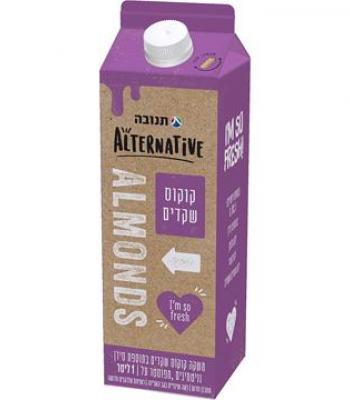 משקה שקדים תנובה אלטרנטיב 1 ליטר