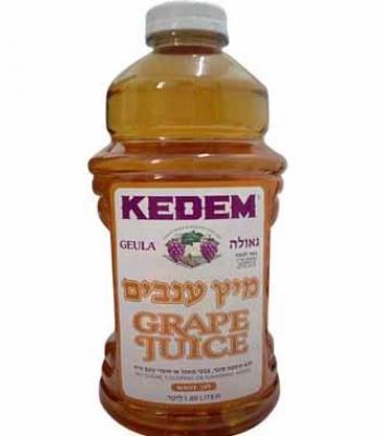 מיץ ענבים לבן קדם גאולה 1.89 ליטר כשל