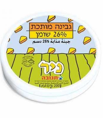 גבינה מותכת 26 אחוז שומן תנובה