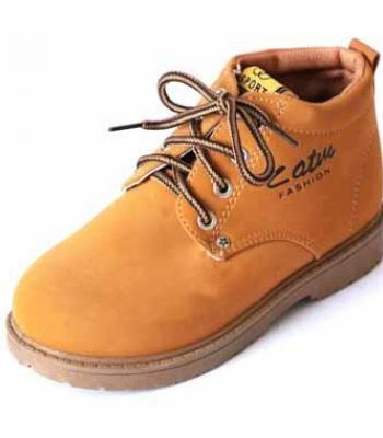 נעל ספורט גבוה עם שרוכים
